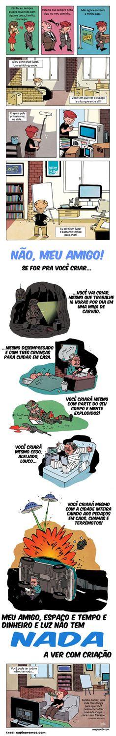 Satirinhas - Quadrinhos, tirinhas, curiosidades e muito mais! - Part 203