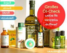 Welche Öle verstopfen die Pore und welche sind nicht komedogen (Arganöl, Diestelöl, Jojobaöl)