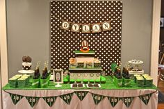 Football Birthday Party Ideas