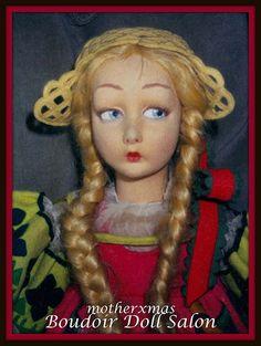 Lenci boudoir doll Russian
