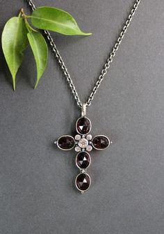 Pendant Necklace, Meditation, Jewelry, Inspiration, Jewelry Gifts, Rhinestones, Crosses, Handmade, Mindfulness
