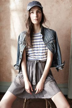"""Coliena Rentmeester photographed the February 2014 """"Looks We Love"""" for Madewell.  Capture by Versatile Studios."""