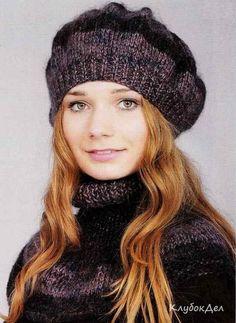 Обсуждение на LiveInternet - Российский Сервис ОнРKnitting Patterns, Sewing Patterns, Crochet Patterns, Knit Crochet, Crochet Hats, Fluffy Sweater, Knit Beanie Hat, Knitting Accessories, Hats For Women