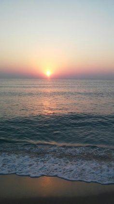 Second sunrise from Primorsko, Burgas province - Bulgaria