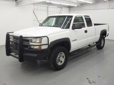 Need a new work truck for your company? Starting your new company in 2016? This White 2007 Chevrolet Silverado 2500HD Classic is the PERFECT work truck. VERY Low miles @ an AMAZING price! CALL ADRIANA 832-779-1088 Great Run, Company News, Chevrolet Silverado, New Work, Trucks, Cars, Classic, Amazing, Things To Sell