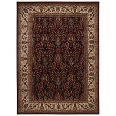 Persian Arts Burgundy (Red) 7 ft. 9 in. x 10 ft. 10 in. Area Rug