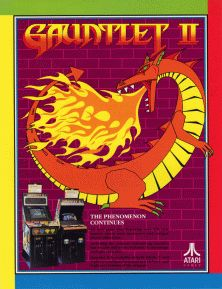Gauntlet II game flyer.png