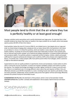 How clean is the indoor air we breathe in?