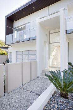 ~ white + modern + minimalistic house  byTONIC #architecture