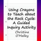 Great introduction to earth science and uses up those broken crayons!  UPDATES: Now with sample interactive journal notes and prompts for elementary students!