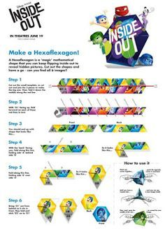 Image Result For Hexaflexagon Print Out  Maths    Math