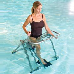 The In Pool Exercise Glider...now i think it's super annoying to pin exercise shit because you should be out there doing it not pinning about it, but this is amazing!