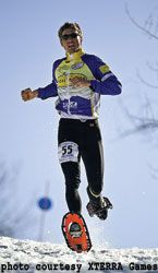 Winter X-Training on Snowshoes | Snowshoe Running tips from Josiah Middaugh, 4-time U.S. Snowshoe racing champion.