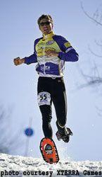 Winter X-Training on Snowshoes | Snowshoe Running tips from Josiah Middaugh, 4-time U.S. Snowshoe racing champion.