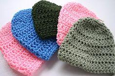 All Things Fee: Crochet: Basic Baby Hat