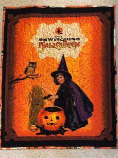 """Baby's first Halloween 33"""" x 41"""" machine quilted stars lightweight blanket by GeeGeeGoGo on Etsy Halloween Blanket, Halloween Quilts, I Love Mommy, Welcome Home Gifts, First Halloween, Lap Blanket, Custom Quilts, Machine Quilting, Swirls"""