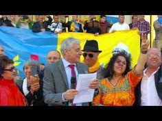 levée du drapeau Kabyle
