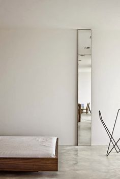 STIL INSPIRATION: Minimalist interiors + concrete floors