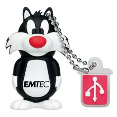 Amazon.com : Emtec Electronics L101 Looney Tunes 4 GB USB 2.0 Flash Drive (Sylvester the Cat) - EKMMD4GL101 : Looney Toon Key Chain : Electr...