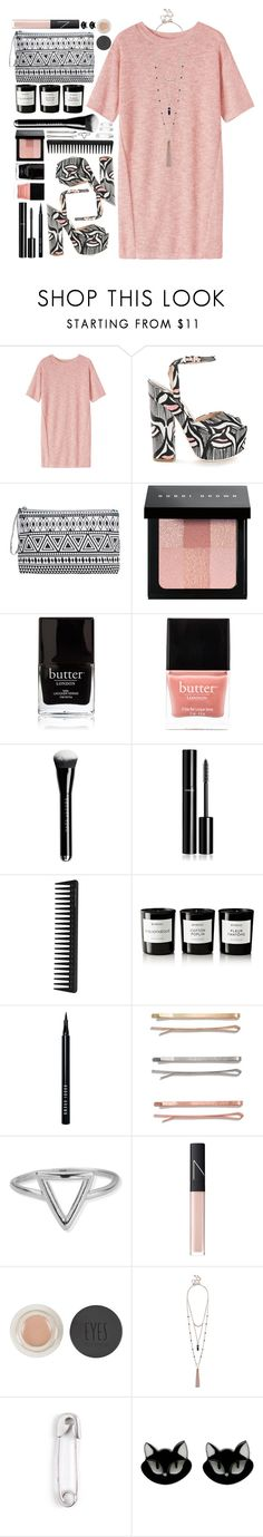 """""""#587 Evelyn"""" by blueberrylexie ❤ liked on Polyvore featuring Toast, Giamba, Bobbi Brown Cosmetics, Butter London, Chanel, GHD, Byredo, Madewell, ChloBo and NARS Cosmetics"""