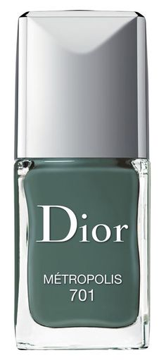 Feeling couture to the fingertips with this stunning, dark sage Dior hue that's perfect for F/W.