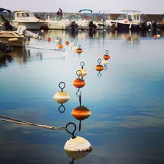 Bouées, buoys #Solenzara #Corsica June 2013
