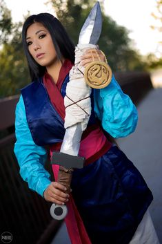 how to make a mulan warrior costume