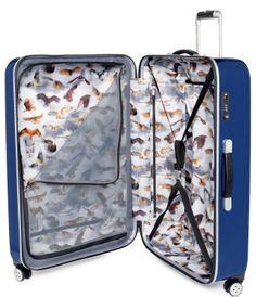 65dd8918efdab Buy Ted Baker Herringbone Large Suitcase