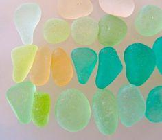 Tropical mix sea glass
