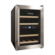 Vinotemp 12 Bottle Wine Cooler - 2 Zone