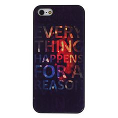 Abstract Painting Pattern Aluminum Hard Case for iPhone 5/5S – USD $ 5.99