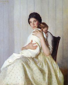 'The Mother' ~ Marie Danforth Page (American, 1869-1940)