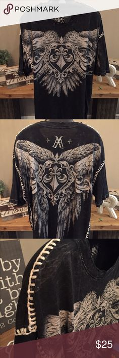Affliction - Live Fast - T-Shirt XXL - Excellent Condition Affliction Shirts Tees - Short Sleeve