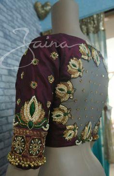 Lotus Sexy Blouse, Blouse Neck, Blouse Dress, Saree Blouse Patterns, Saree Blouse Designs, Blouse Styles, Bridal Blouse Designs, Cutwork Blouse Designs, Mirror Work Blouse