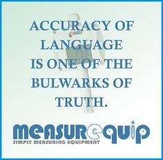 Accuracy Of Language is One Of the Bullwarks Of Truth. #Measurequip #P0210 #EconomyTemperatureTransmitter