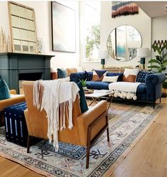 Chair style and coffee table inspiration