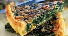 Quiche épinard roquefortVoir la recette de la Quiche épinard roquefort >>