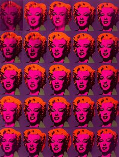 Twenty-Five Colored Marilyns Revisited, Plate 16