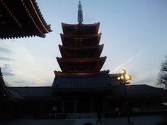 浅草寺五重塔1