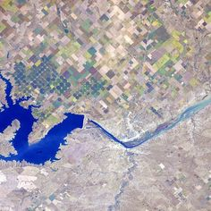 A reservoir in South Dakota. The story of #water.