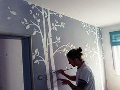 Individuelle Wandbemalung Im Kinderzimmer Von Junior Florian