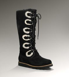 Ugg boots! Rommy tall! These are very cute and casual
