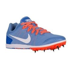 check out 9fe57 5479b NEW Women s Nike Zoom Rival D Track   Field Spikes 806560-418 Size 7 NWOB  Bin 1