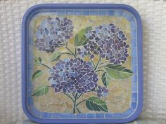 112 best Mosaic trays and coasters Mosaic Tray, Mosaic Tile Art, Mirror Mosaic, Mosaic Art Projects, Mosaic Crafts, Mosaic Flower Pots, Mosaic Garden, Mosaic Designs, Mosaic Patterns