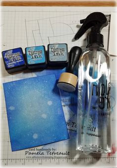 """airbornewife's stamping spot: Day 1. MOJO455 Distress Inks ~ Zig Clean Color Pens """"HELLO SUNSHINE"""" card using Lawn Fawn stamps & dies"""