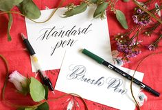 ... CALLIGRAPHY} on Pinterest | The postman, Modern calligraphy and