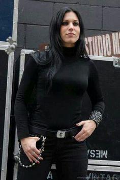 Cristina Scabbia de Lacuna Coil