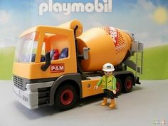 Remorque pompier 3178 playmobil 144 m joa louca - Betonniere playmobil ...
