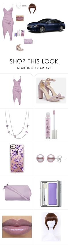 """""""Night out"""" by kaitlynpope77 on Polyvore featuring Boohoo, JustFab, David Yurman, Urban Decay, Casetify, Building Block, Clinique and WithChic"""