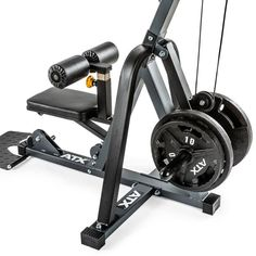 Estación de poleas alta y baja Z-Form ATX® Polaroid, Lat Pulldown, My Gym, Stationary, Gym Equipment, Fitness, Workout, Muscle, At Home Gym